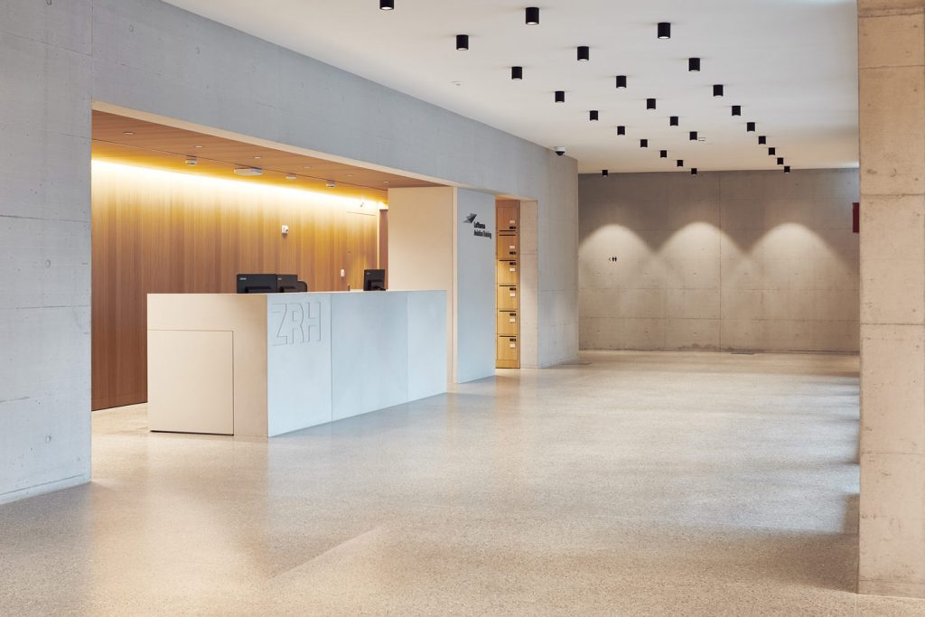 dade design Betonelemente Betondesign Lufthansa Aviation Training Center