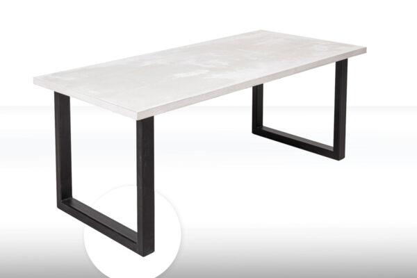 MAXIMILIAN Betontisch Tischfuss Tischgestell Kantrohr | dade design