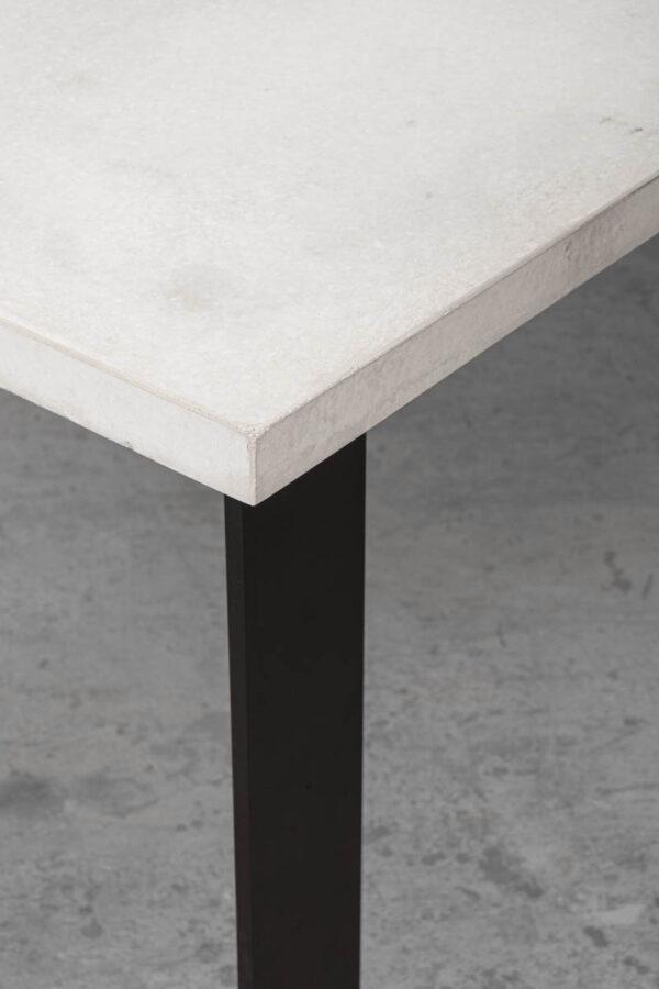 OSCAR Betontisch Tischfuss Tischgestellt Flachstahl concrete cemento | dade design