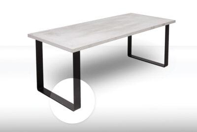 OSCAR Betontisch Tischfuss Tischgestell Flachstahl | dade design