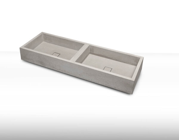 Beton Doppel-Waschbecken dade ELEMENT – dade design
