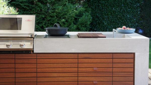 Outdoor Küche Außenküche Betonküche | dade design