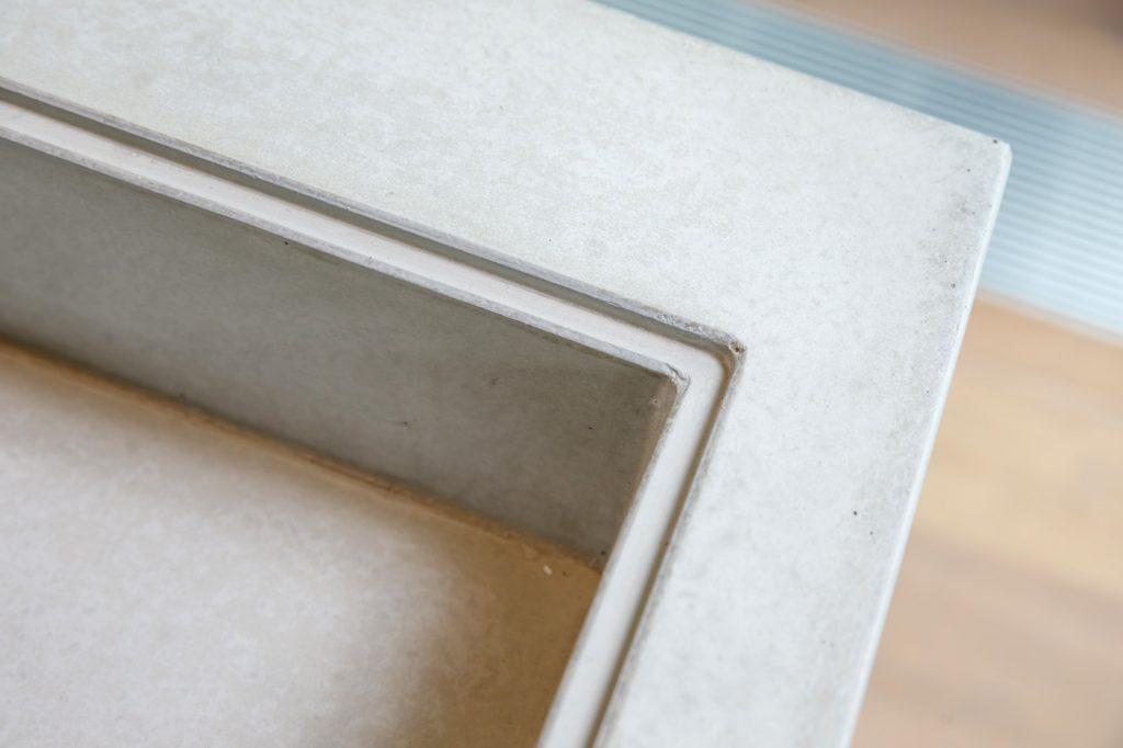 Schönheit Echtheit Beton Arbeitsplatte Betonkueche Kanten beton – dade design