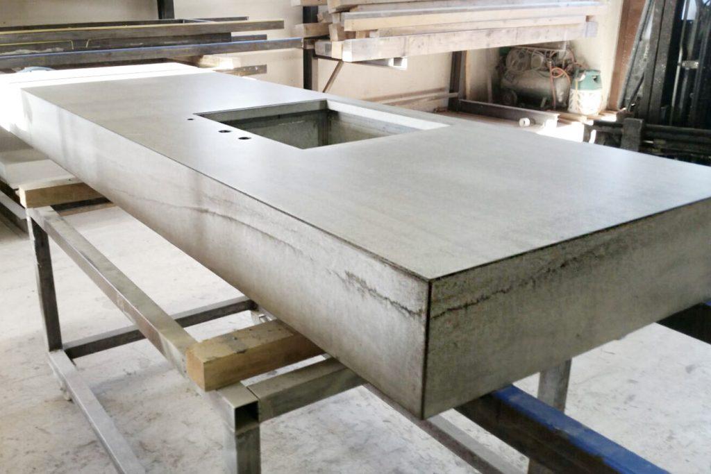 Schönheit Echtheit Beton Arbeitsplatte Betonkueche beton – dade design