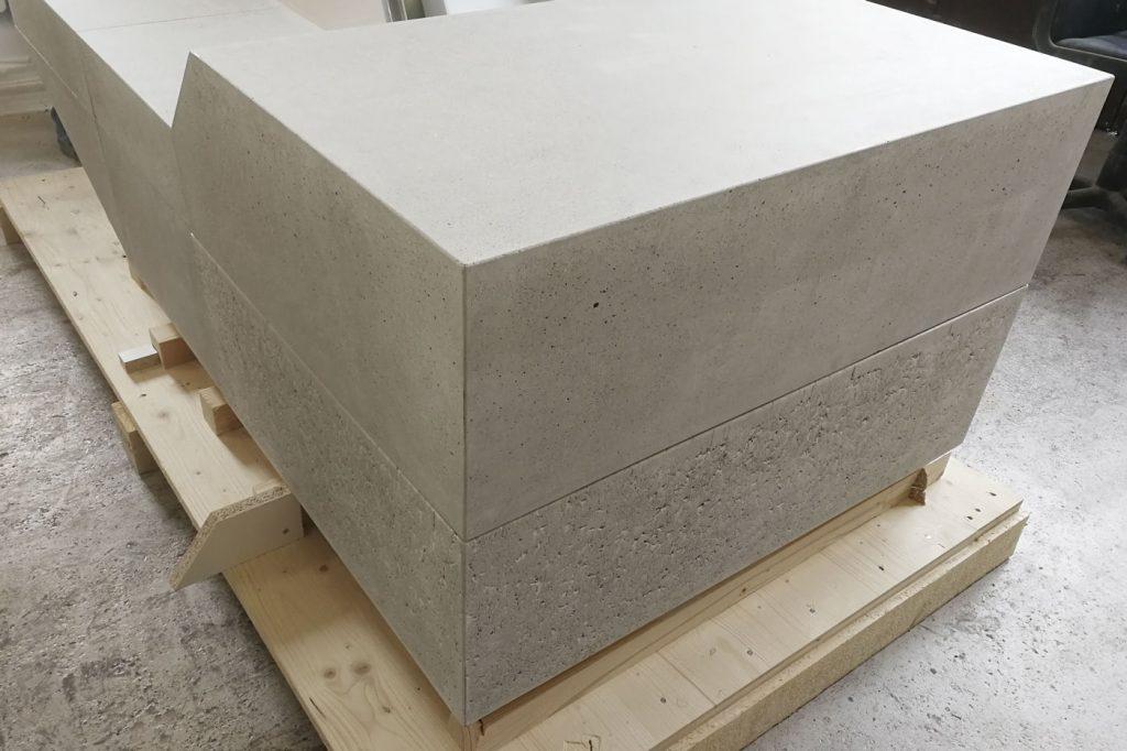 Schönheit Echtheit Beton Arbeitsplatte Betonmöbel beton – dade design