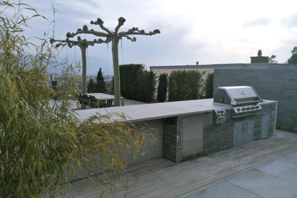 Outdoor Küche Aussenküche Betonküche | dade design