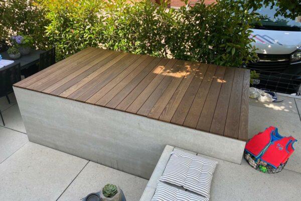beton brunnen badebrunnen Abdeckung | dade design