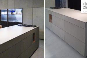 dade kitchen with 10,5mm concrete fronts