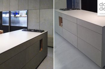 dade kitchen with 13mm concrete fronts