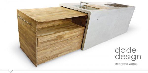 Trolley Betonküche dade OUTDOOR – dade design