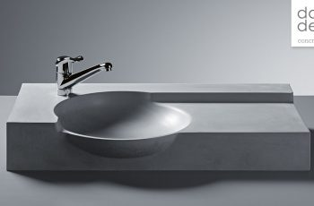 New additions to the dade design concrete washbasins collection – aquisition of Creabeton products