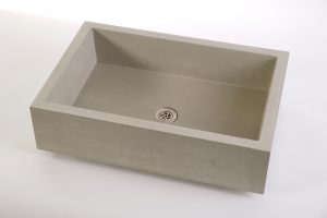 Concrete Sink ELEMENT 60 with round drainage