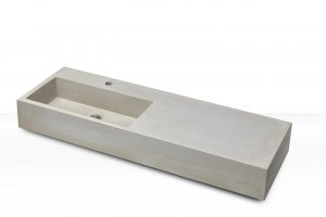 Concrete Sink CASSA 120, shelf right