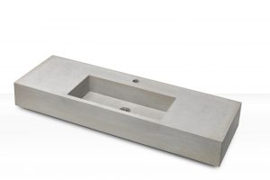 Concrete Sink CASSA 120, middle